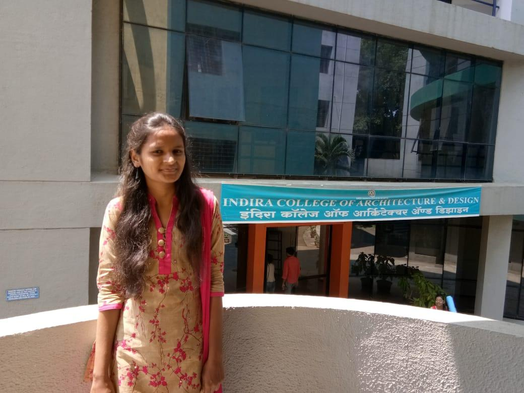 Prajakta Bhosale at Indira College of Architecture and Design